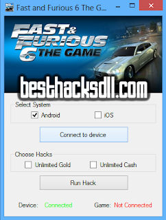 Fast and Furious 6 The Game Hack v2.0 (Updated 2014)