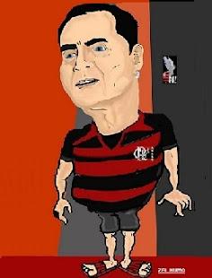 """""""Caricatura de Carlos Ribeiro feita pelo Artista, Confrade e Amigo Zel de Cabo Frio"""""""