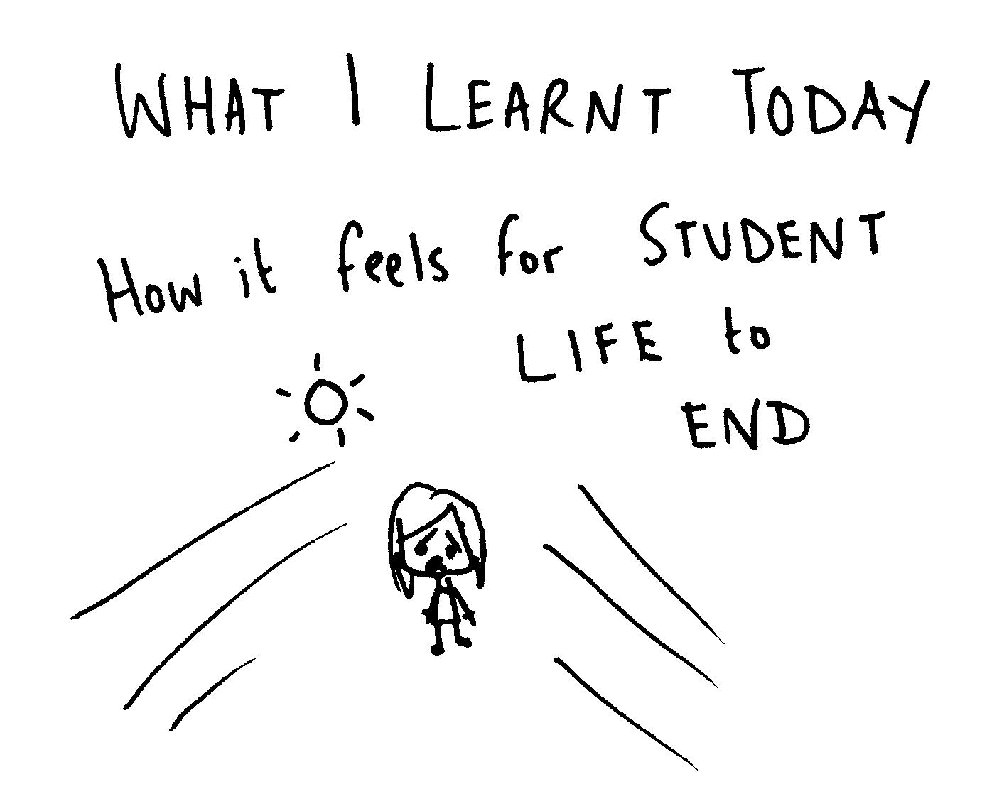Essay on life of a student
