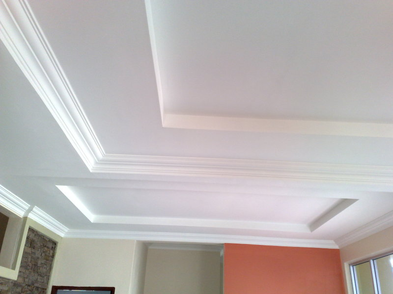 JUNAS TEGUH RENOVATION: Plaster Ceiling