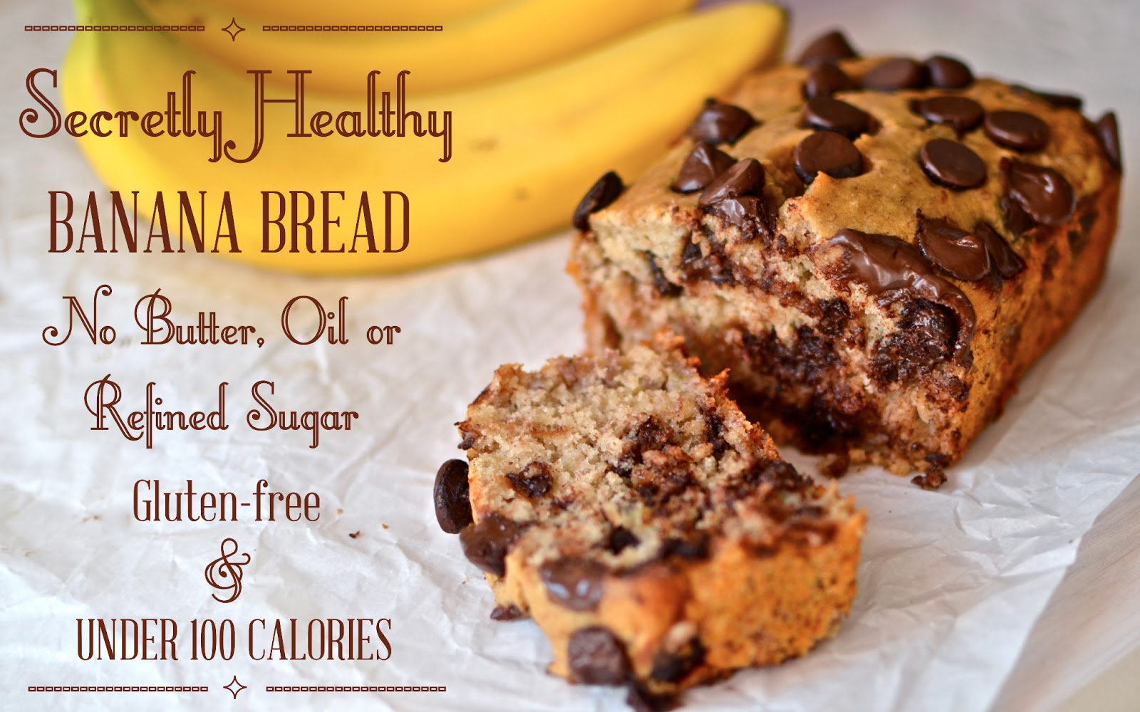 Yammies glutenfreedom secretly healthy banana bread with secretly healthy banana bread with chocolate chips forumfinder Images