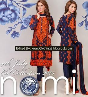 Nomi Ansari Eid Collection 2015-2016