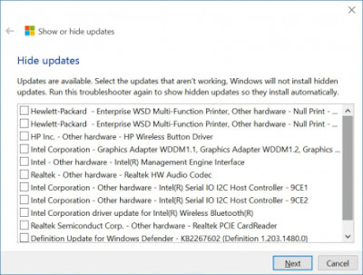 how-to-hide-specific-updates-from-windows-10