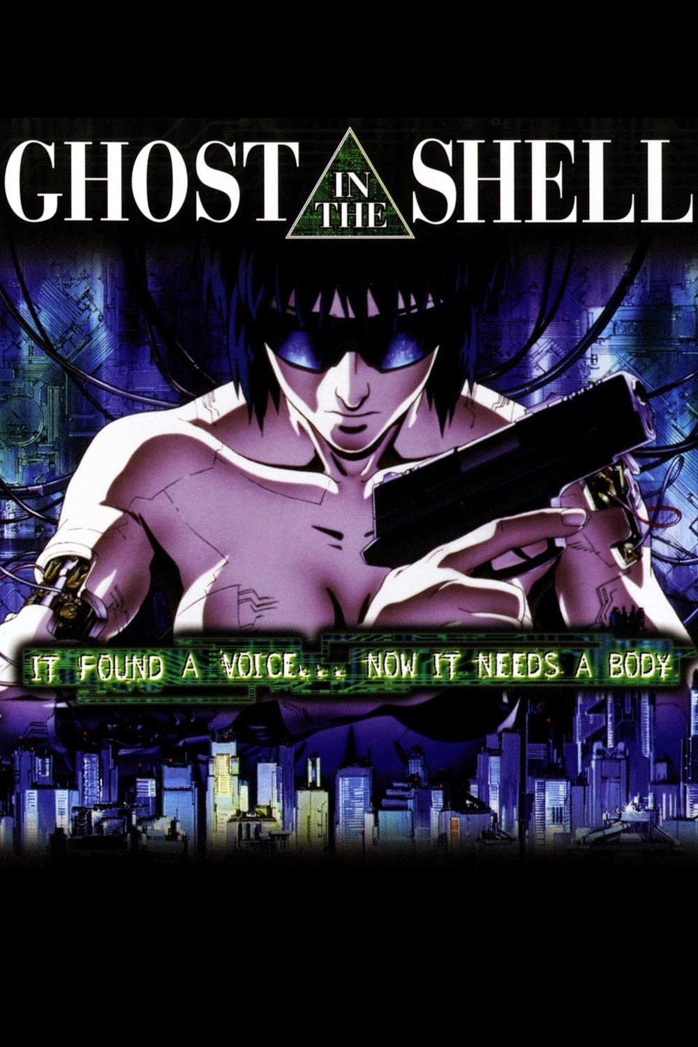 Ghost In The Shell (BRRip HD Japonés Subtitulada) (1995)