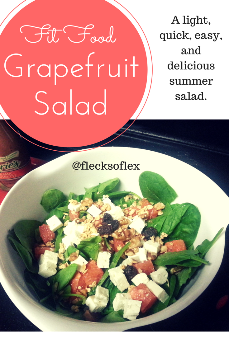 Fit Food: Quick and Easy Summer Salad - Flecks of Lex