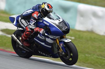 New Lorenzo's Yamaha