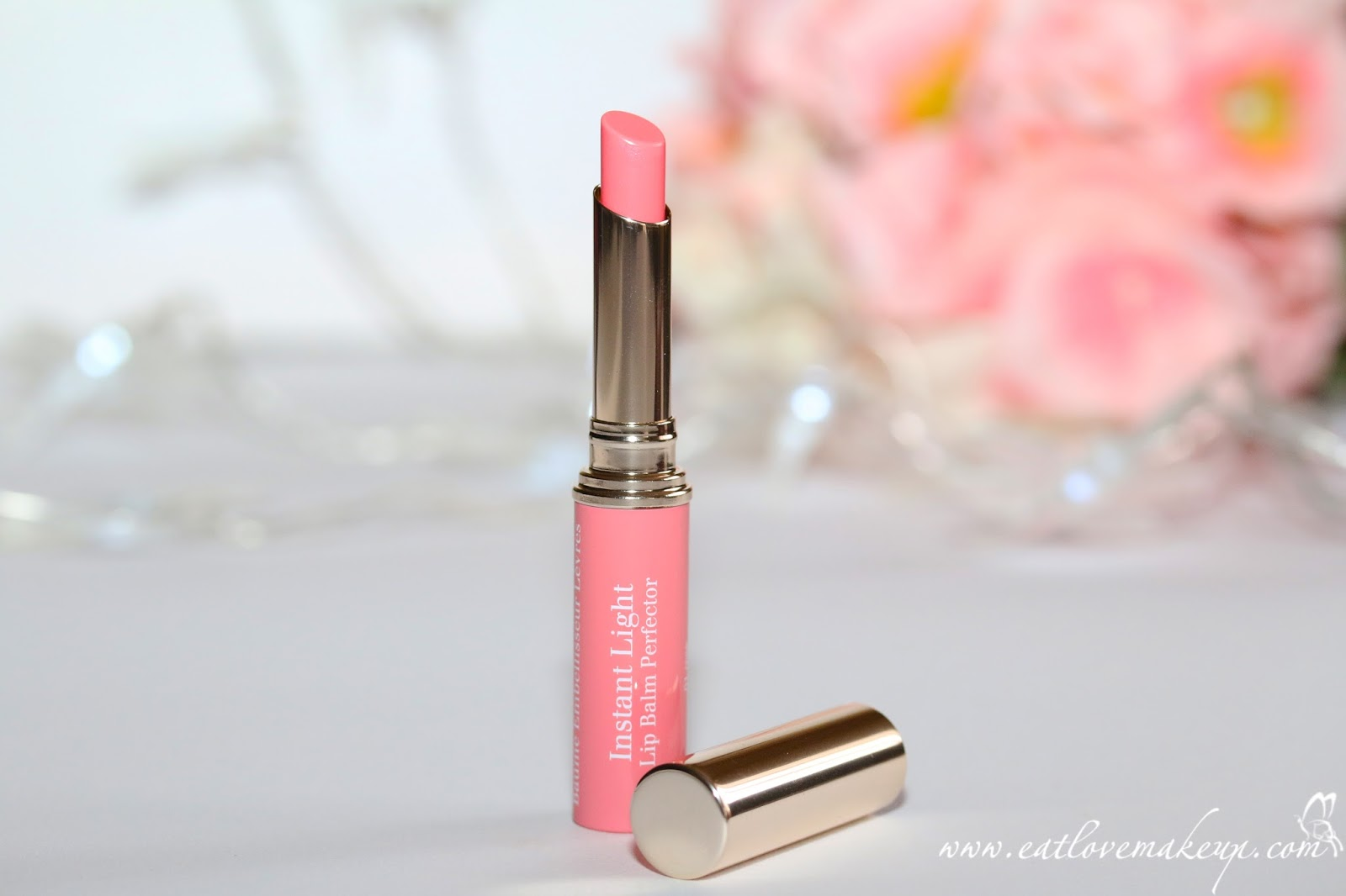 Clarins Instant Light Natural Lip Balm Perfector 01 Rose