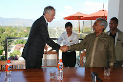Tony Blair visits Timor Leste