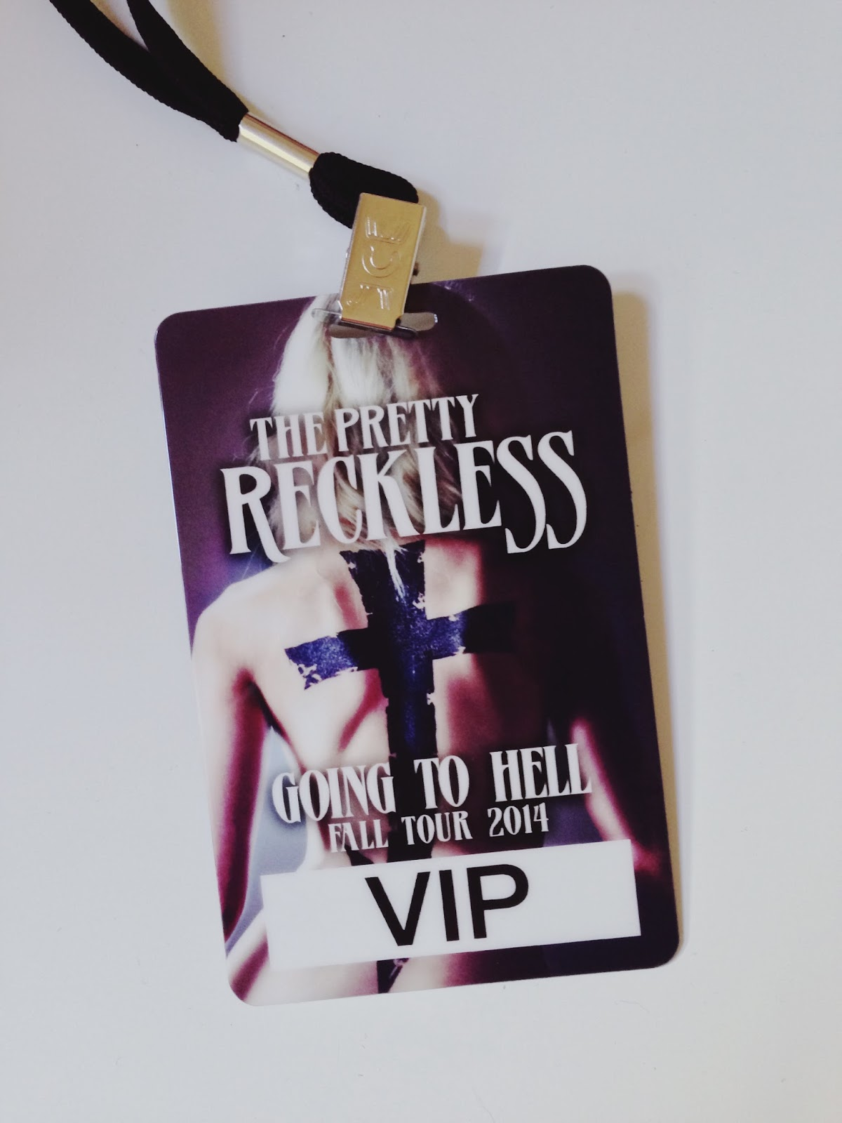 The Pretty Reckless VIP Lanyard