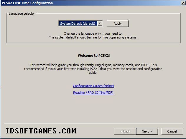 Cara Instal PCSX2