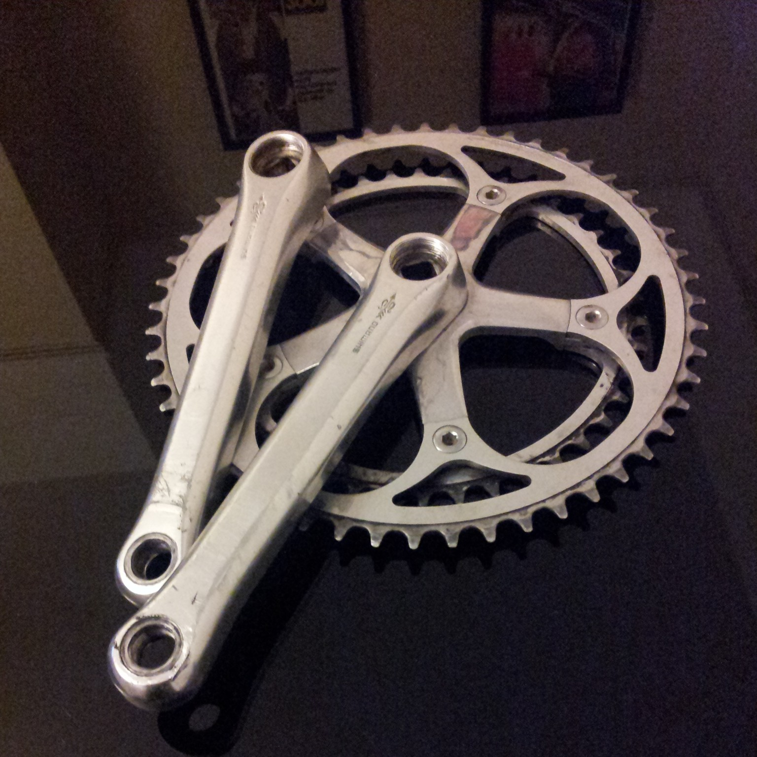 Shimano Golden Arrow FC-S125 Crankset
