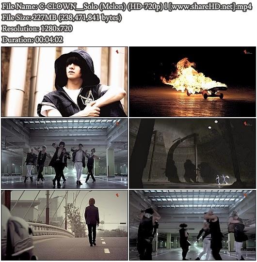 Download MV C-CLOWN - Solo (Melon HD 720p)