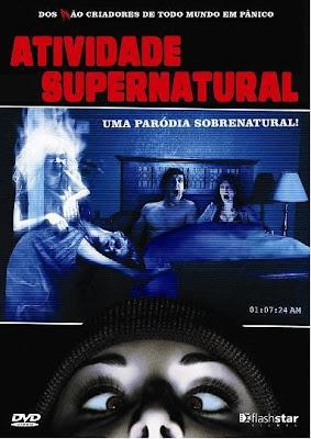 Filme Poster Atividade Supernatural DVDRip XviD Dual Audio & RMVB Dublado