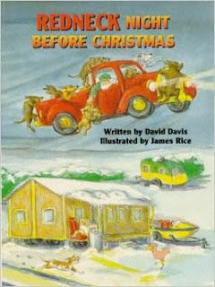bookcover of REDNECK bookcover and sample page from REDNECK NIGHT BEFORE CHRISTMAS by David Davis NIGHT BEFORE CHRISTMAS by David Davis