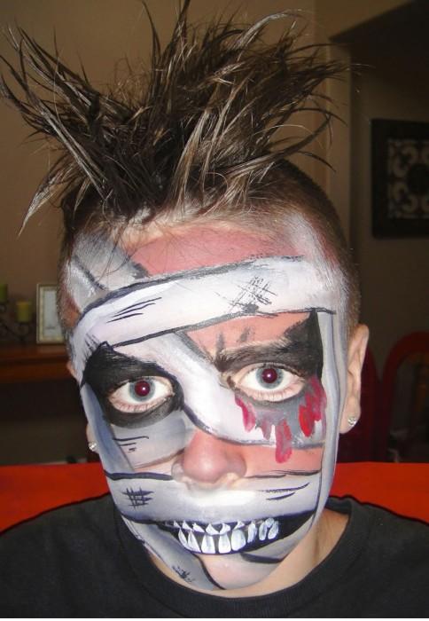 monstruos, zombies, gores y muertos vivientes maquillajes halloween