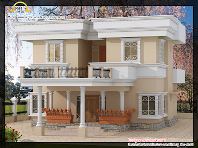 Home Architecture Design Software on Home    House Elevations And Kerala House Plans Of 2200 Sqft Premium