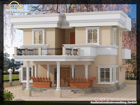 204 Square Meter (2200 Square Feet)  Villa Design -id=