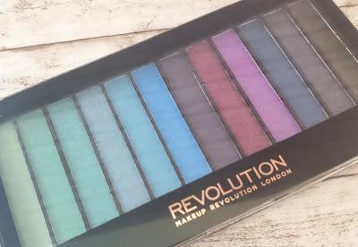 Makeup Revolution Redemption Palette Mermaids vs Unicorns Lidschattenpalette