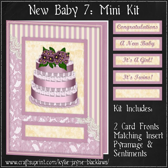 http://www.craftsuprint.com/card-making/mini-kits/mini-kits-new-baby/new-baby-7-pyramage-mini-kit.cfm