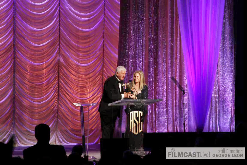 Barbra Streisand recipient of the ASC Governors Award ©george leon/filmcastlive