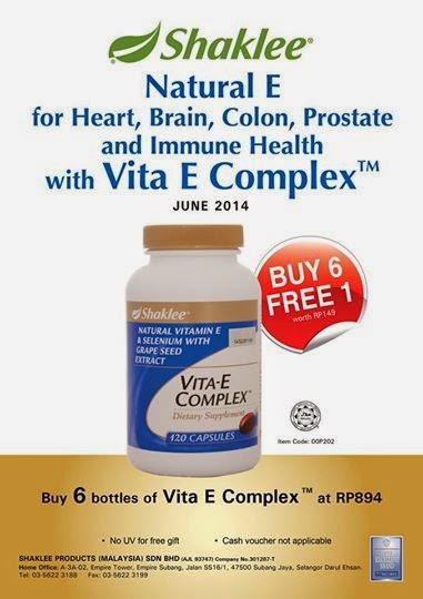 Promosi Vitamin E shaklee