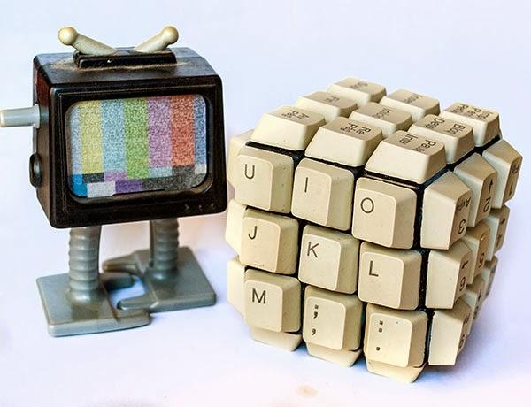 3x3x3 rubik keyboard Handmade