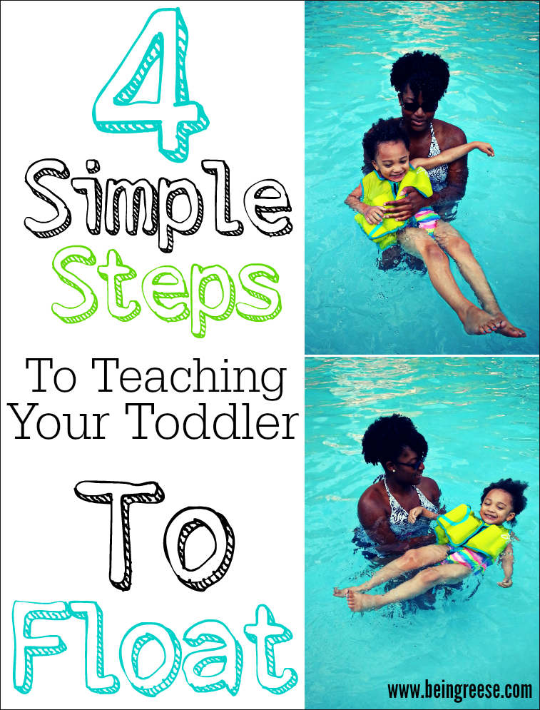 how to teach a child to swim step by step