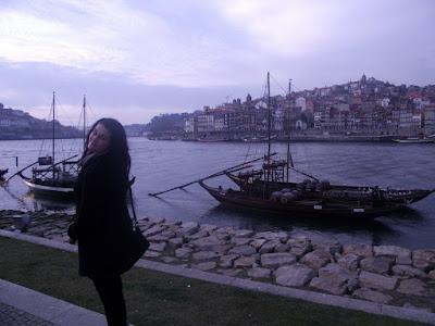 rabelo, río Duero, vistas a Oporto