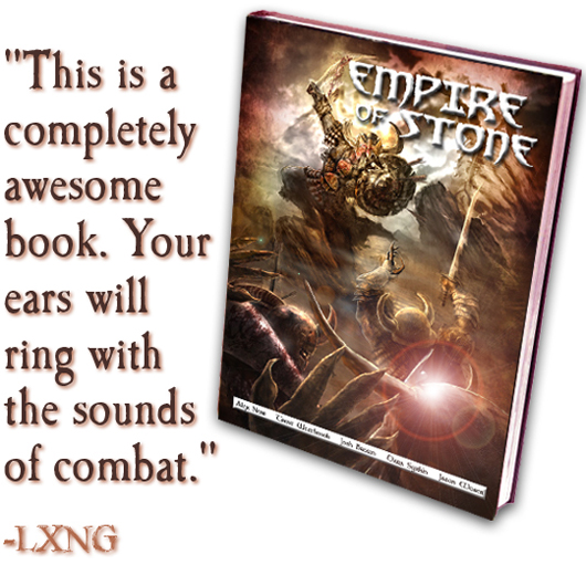 Take that!  Empire of Stone is here! EMPSTOsm