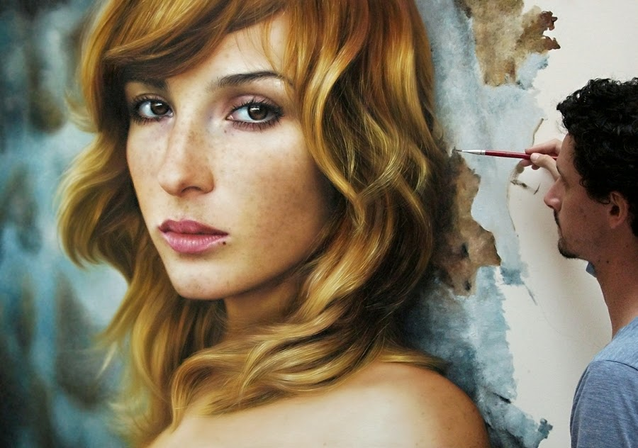 07-Eva-Vica-Kerekes-Fabiano-Milani-Paintings-that-Look-Hyper-Real-www-designstack-co