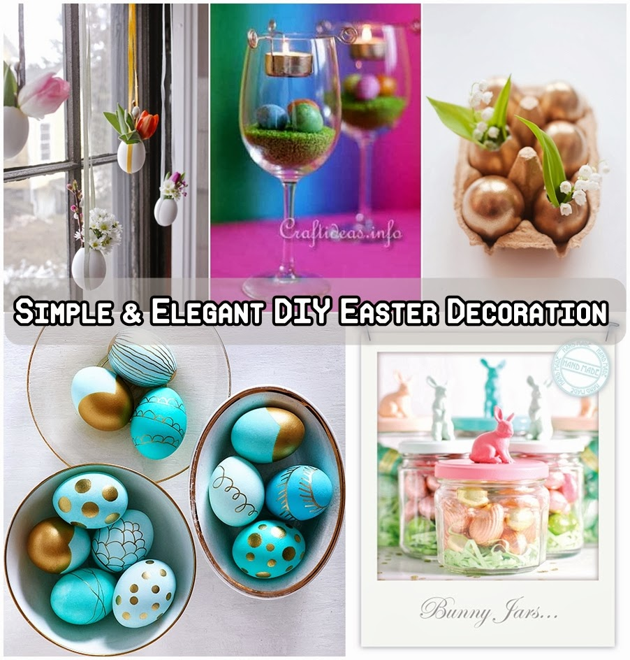 Simple & Elegant DIY Easter Decoration