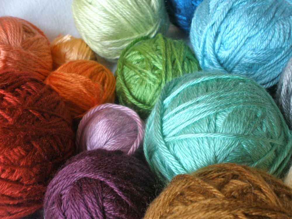 Crocheting Yarn Types : Types Of Crochet Yarn A {tiny} portion of my yarn