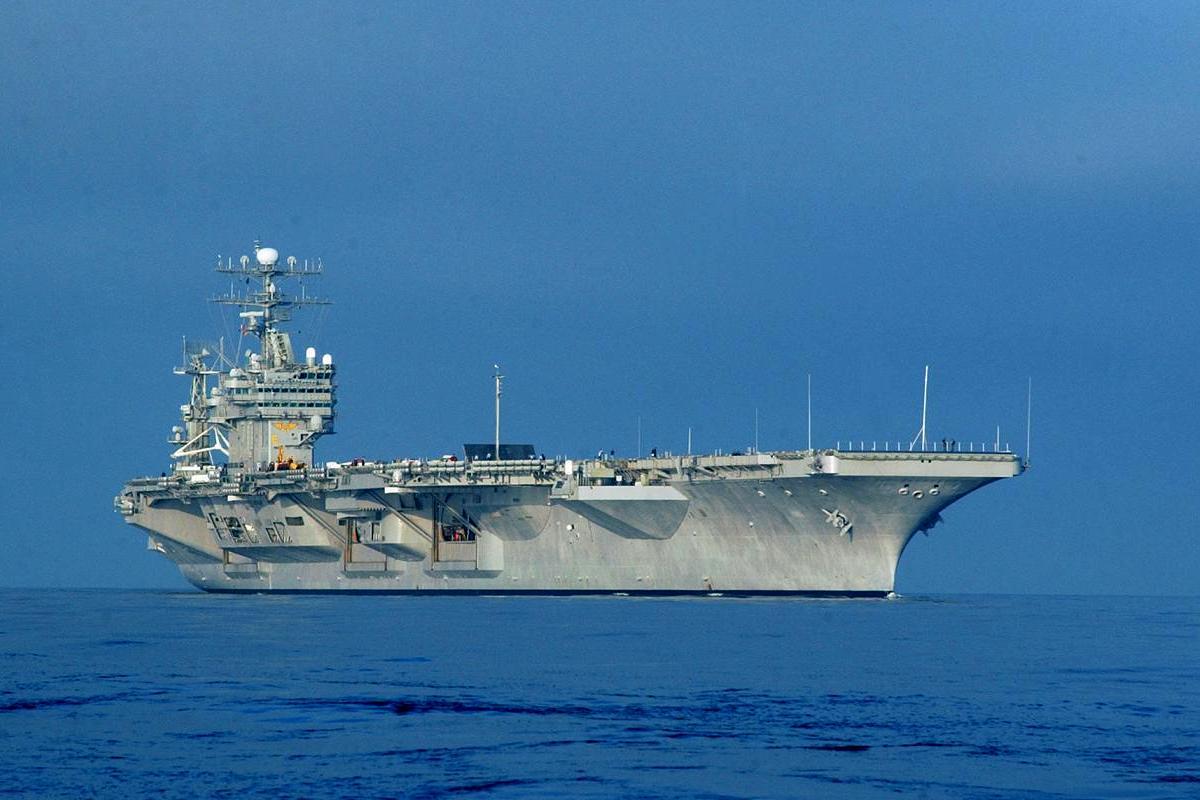 USS Carl Vinson (CVN-70) Aircraft Carrier Wallpaper 1