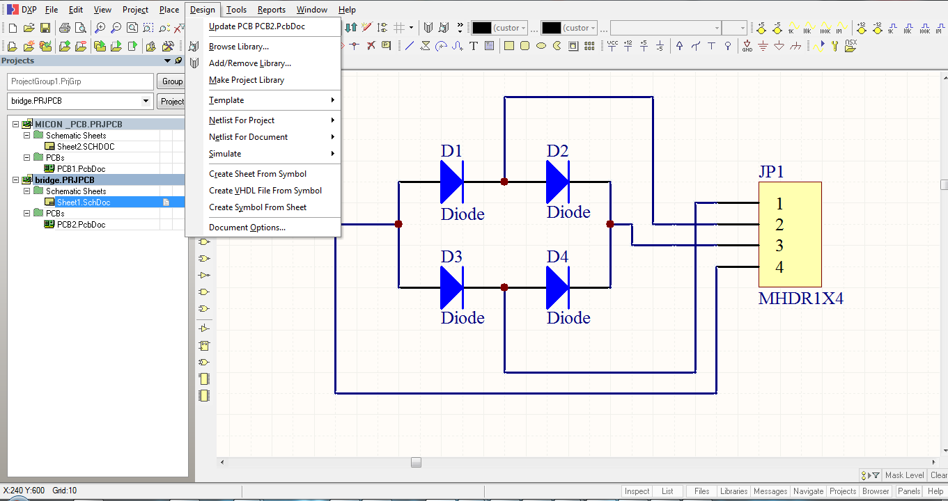 Rushi Gajjar Making Pcb At Home Perfectly Working Schematic Hex Make The File In Protel Dxp But Putting Components Captureconnect Each And After Adding To Project