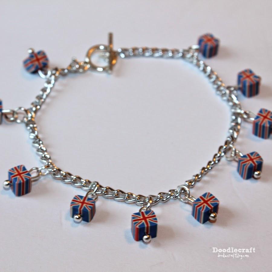 http://www.doodlecraftblog.com/2014/08/union-jack-charm-bracelet.html