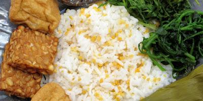 Cara Mudah Membuat Nasi Jagung Tradisional