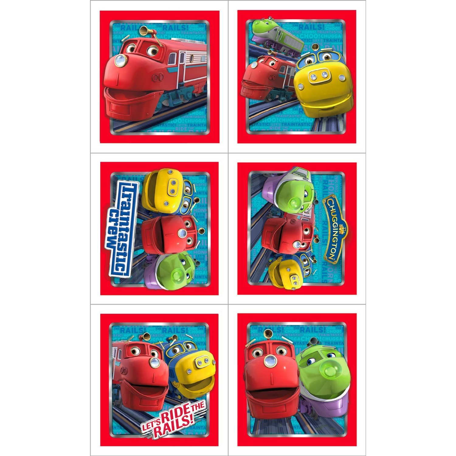 Thanks Mail Carrier – Chuggington Party Invitations