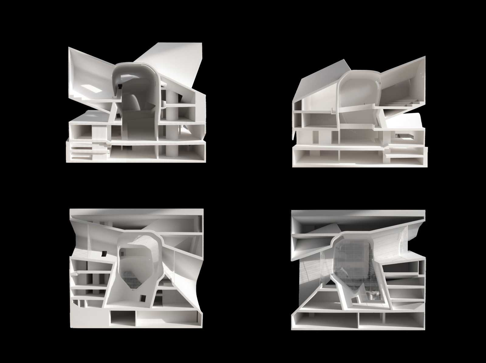 Ecology Museum And Planning Museum By Steven Holl A As