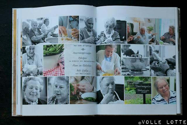 Kochbuch, Backbuch, Buchvorstellung; Seniorenheim, kochen, backen, Rezepte, einfach, Omas Küche, Lebensfreude