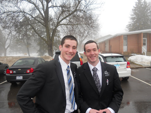 Elder Browning & Elder Filby