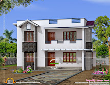 Simple Design Home - Kerala And Floor Plans