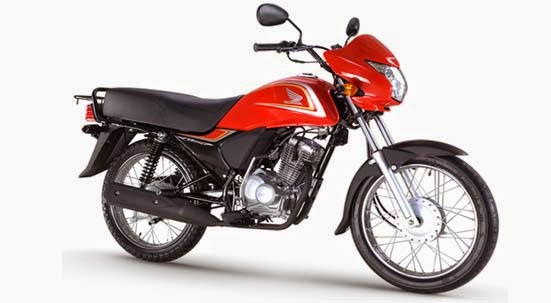 Honda CB125CL Victory red