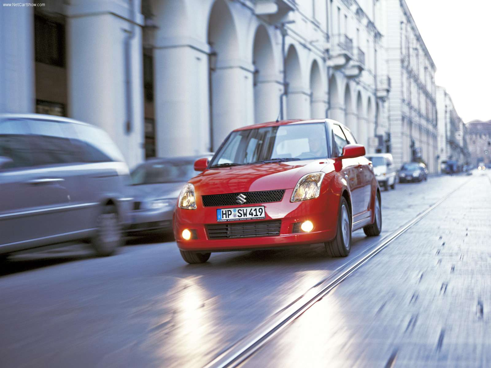 Hình ảnh xe ô tô Suzuki Swift 2005 & nội ngoại thất