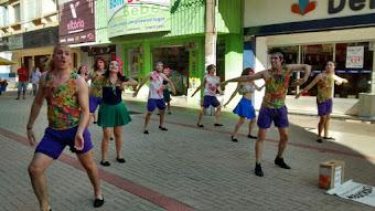 Corpo em Ação nas ruas de Cruz Alta