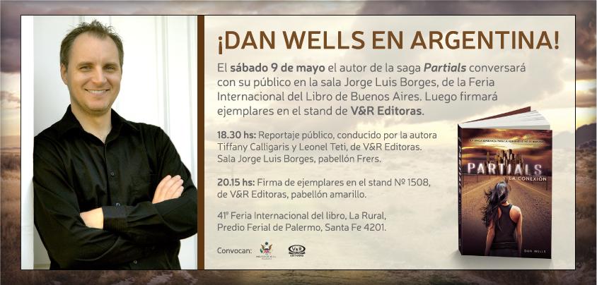 DAN WELLS EN ARGENTINA