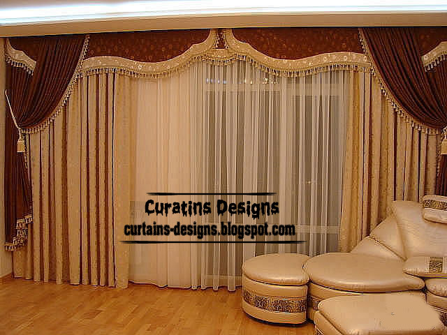 Curtain designs for American window design