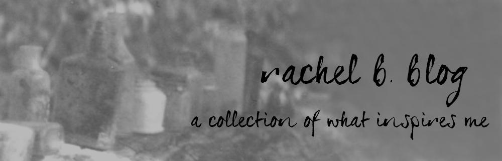 Rachel B. Blog