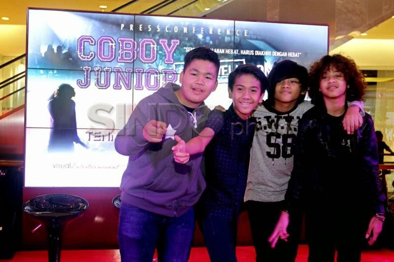 Konser perpisahan Coboy Junior