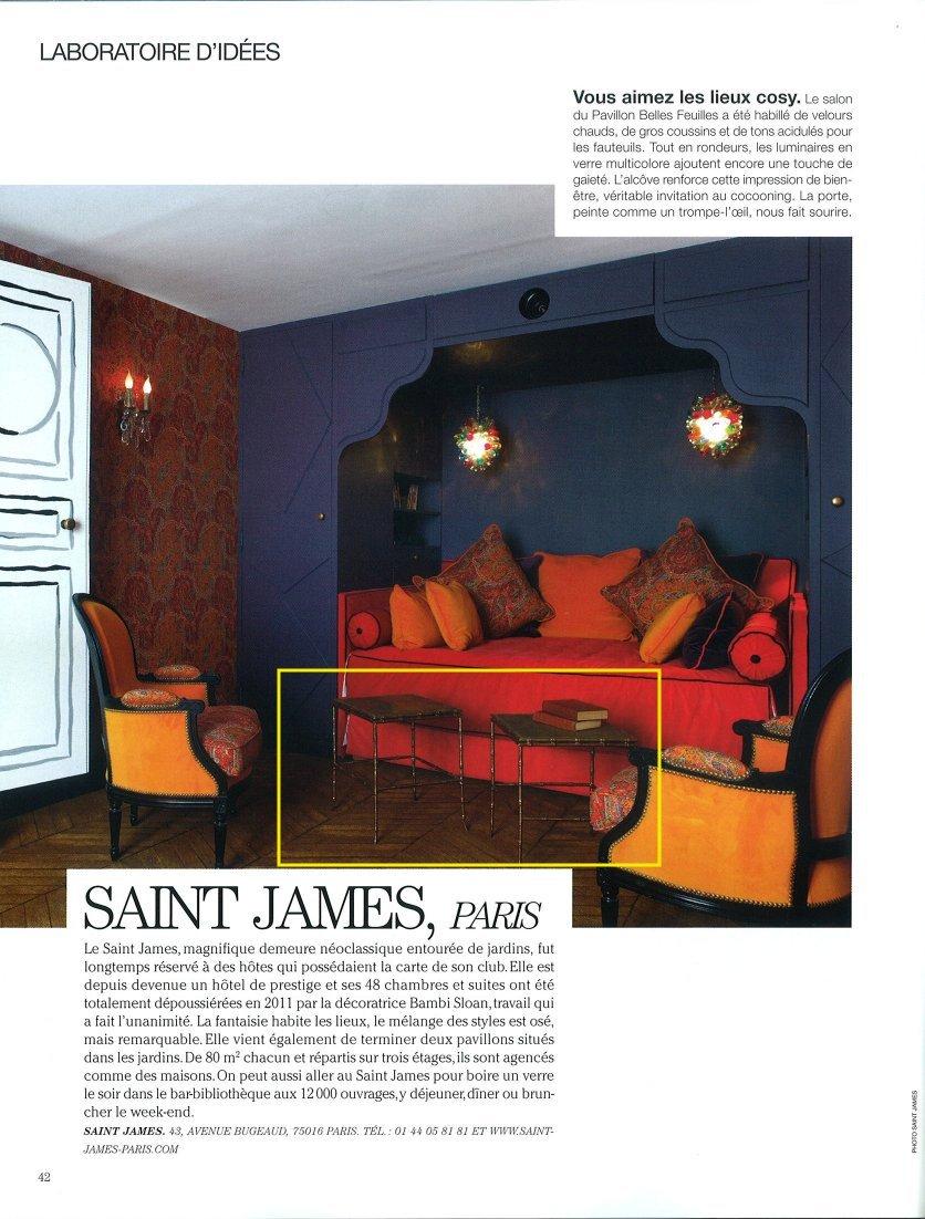jean dange maison fran aise magazine june 2012. Black Bedroom Furniture Sets. Home Design Ideas