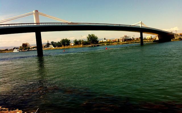 puente sant jaume Transbordador Garriga  Sant Jaume d'Enveja delta ebro